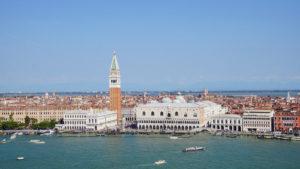 veduta piazza san marco venezia
